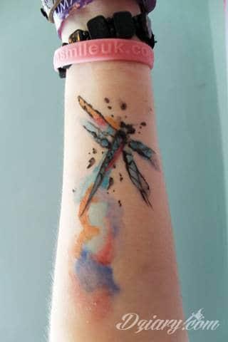 Wzory Tatuaży Ważka Inspiracje Z Kategorii Tatuaże Ważka