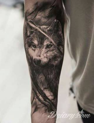 Wzory Tatuaży Wilk Inspiracje Z Kategorii Tatuaże Wilk