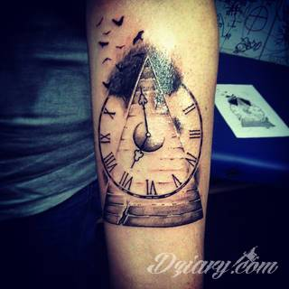 Tatuaże Zegar Wzory I Galeria Tatuaży