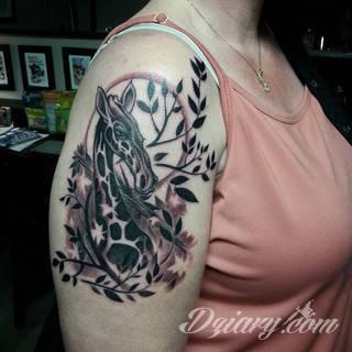 Wzory Tatuaży żyrafa Inspiracje Z Kategorii Tatuaże żyrafa