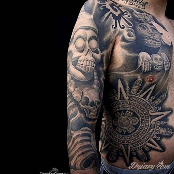 Tatuaż azteckie