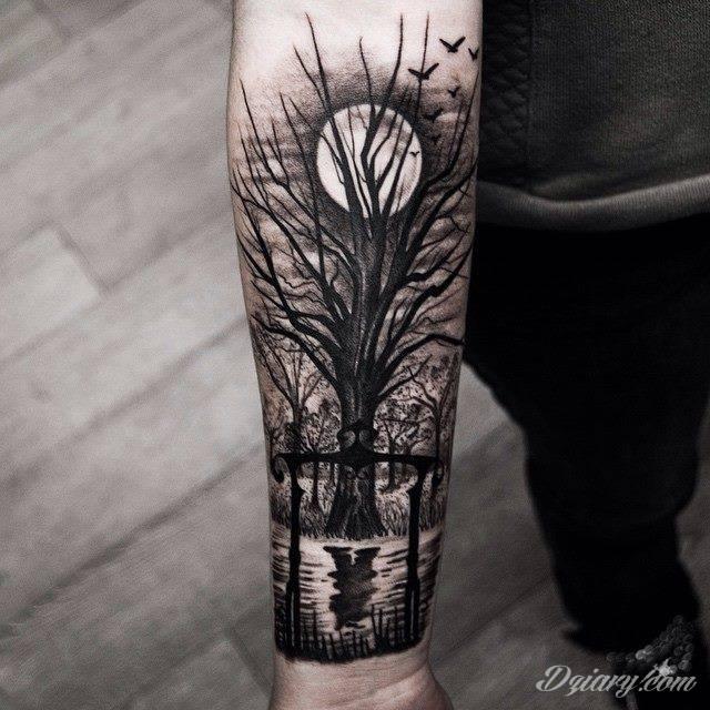 Tatuaż dla mężczyzn (męskie)