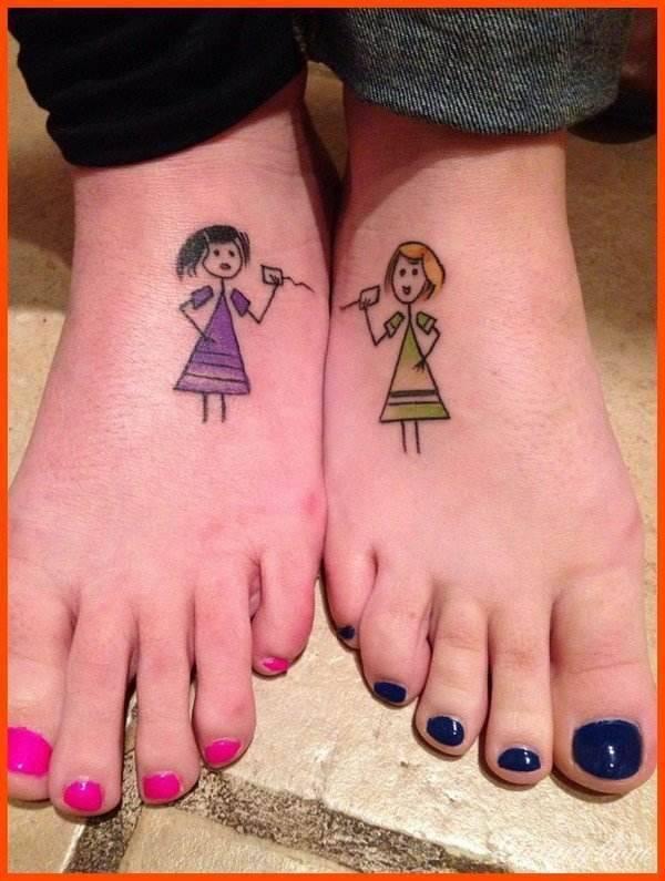 Tatuaż dla przyjaciół
