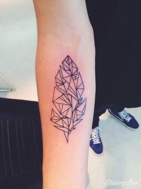 Tatuaż geometryczne