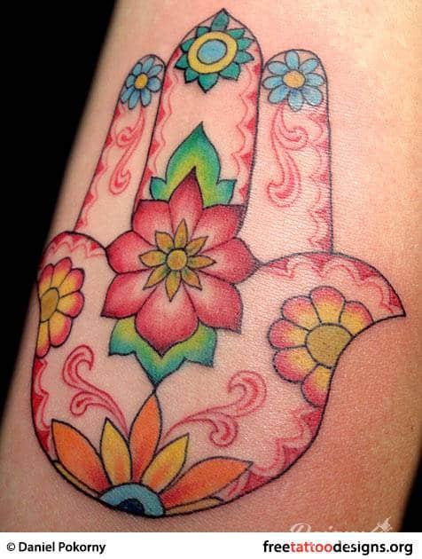 Tatuaż hamsa