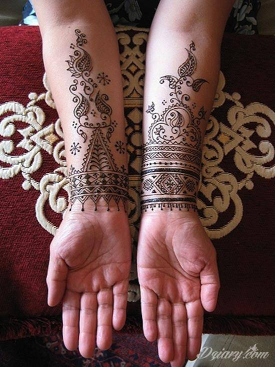 Wzory Tatuaży Henna Inspiracje Z Kategorii Tatuaże Henna