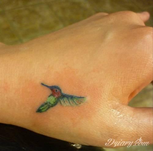 Tatuaż koliber