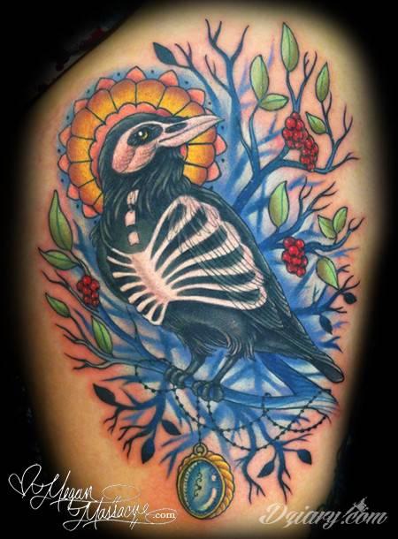 Tatuaż kolorowe