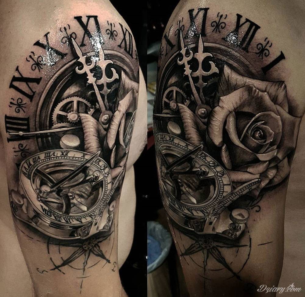 Wzory Tatuaży Kompas Inspiracje Z Kategorii Tatuaże Kompas