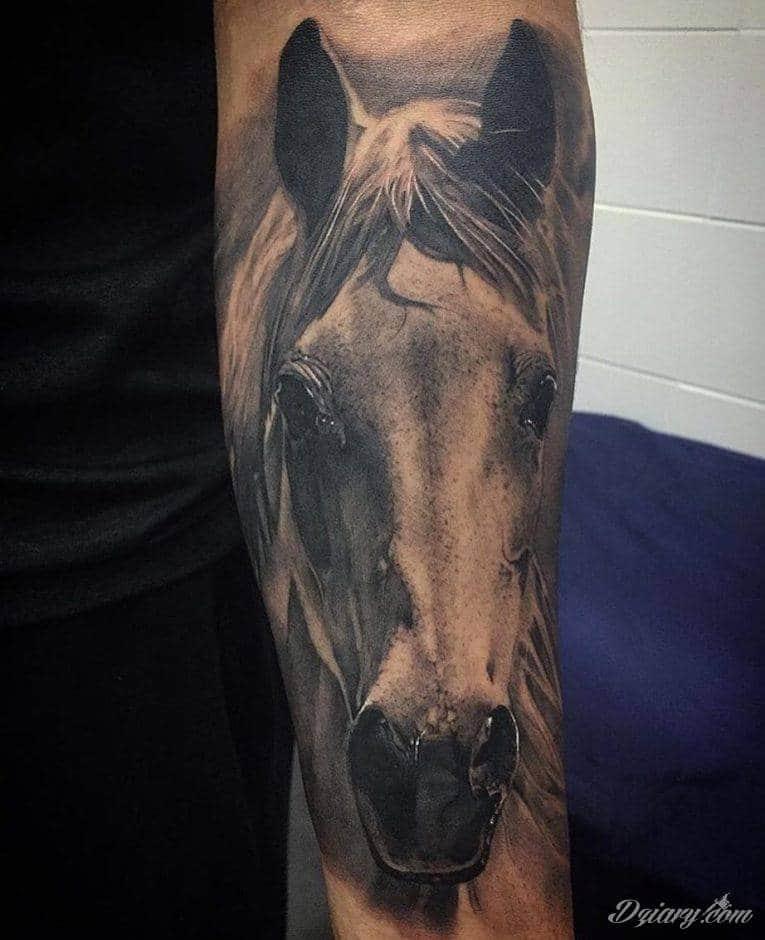 Niezmiennie pożądane i popularne tatuaże o różnorodnym wykorzystaniu motywu konia - zawsze w pędzie, zawsze dynamicznego, zawsze efektownego na skórze. To projekty, które pasują nie tylko do miłośników hippiki.