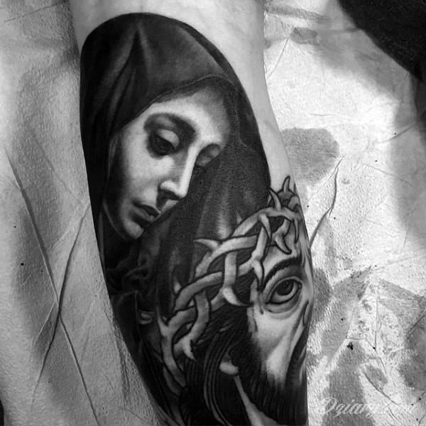 Tatuaż korona