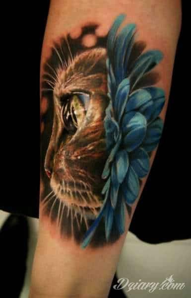 Tatuaż koty