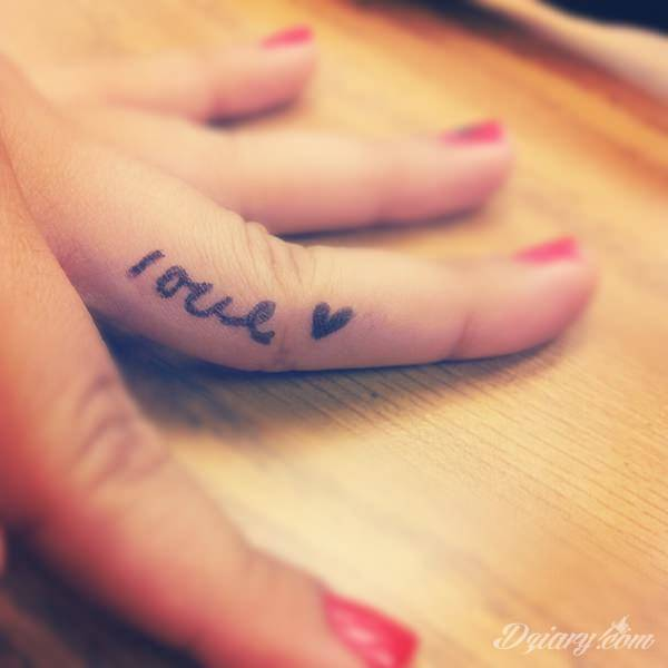 Tatuaż na palcach
