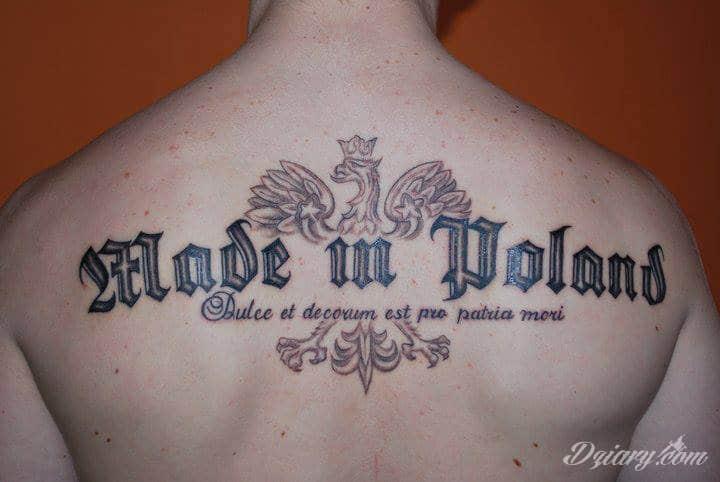 Tatuaż patriotyczne