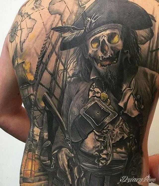 Tatuaż piraci