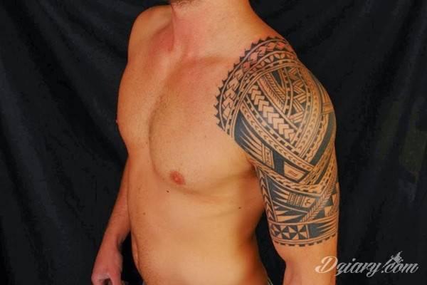 Wzory Tatuaży Polinezyjskie Inspiracje Z Kategorii