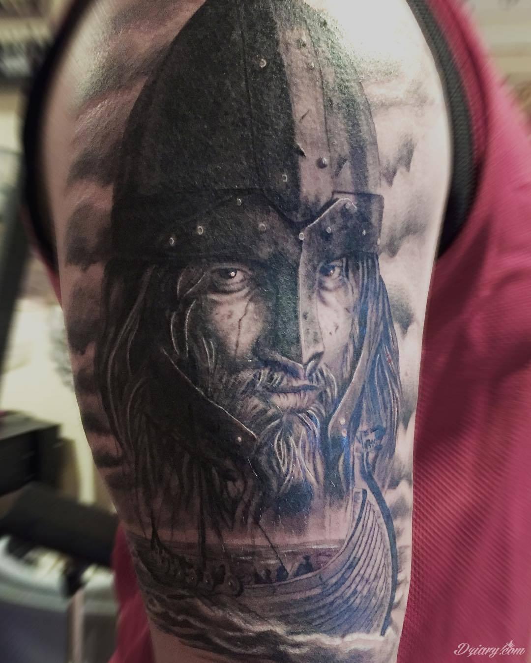 Wzory Tatuaży Wiking Inspiracje Z Kategorii Tatuaże Wiking