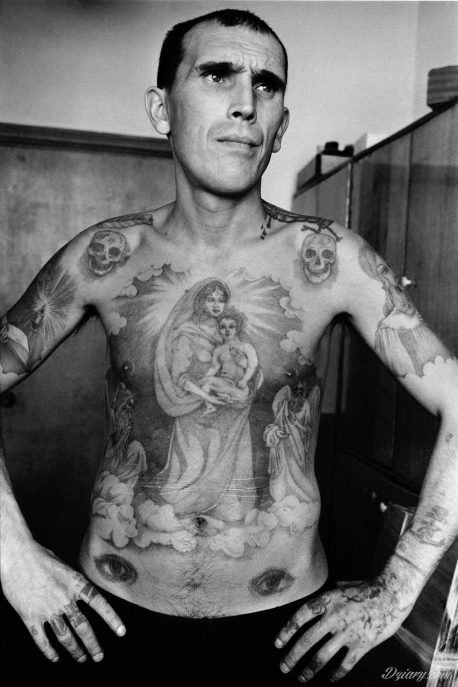 Tatuaż więzienne