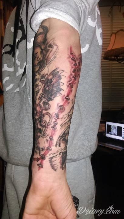 Tatuaż przedramie