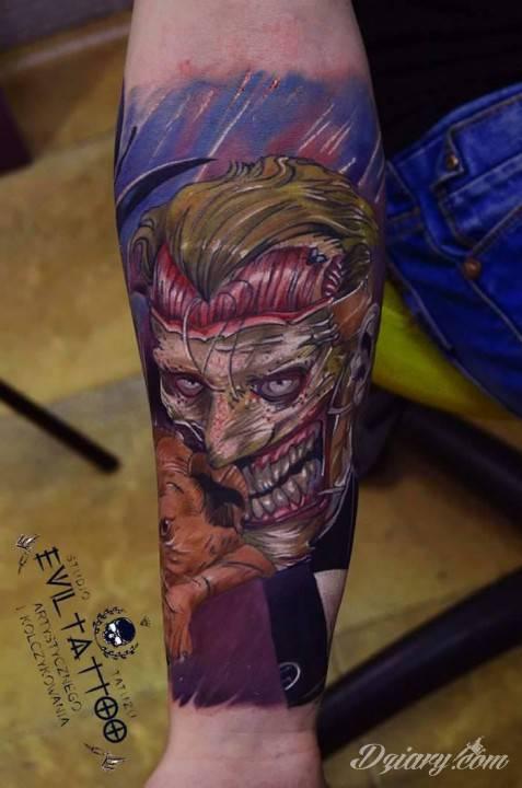 Tatuaż A oto moj...