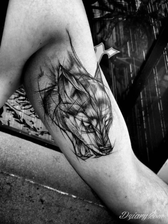 Tatuaż Abstrakcyjny tatuaż lisa...