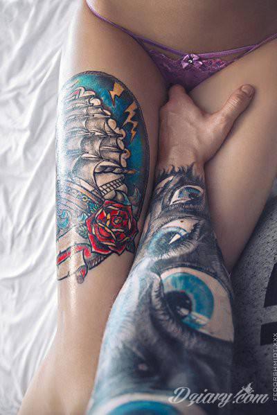 Tatuaż Bierz mnie!