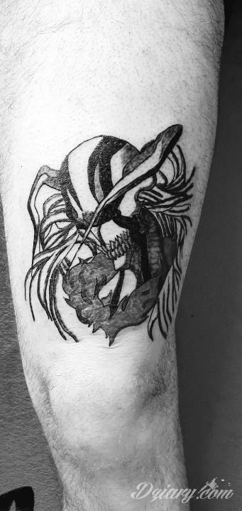 Tatuaż Bleach ichigo vasto...