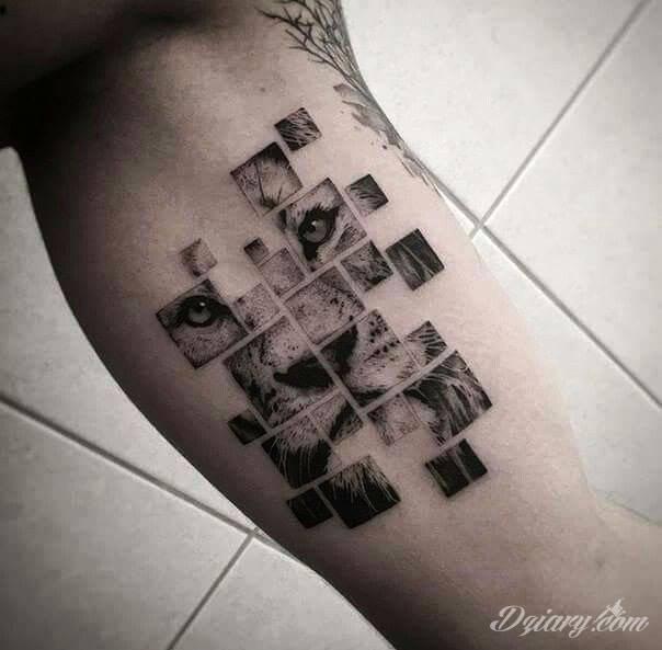 Tatuaż Ciekawy pomysł