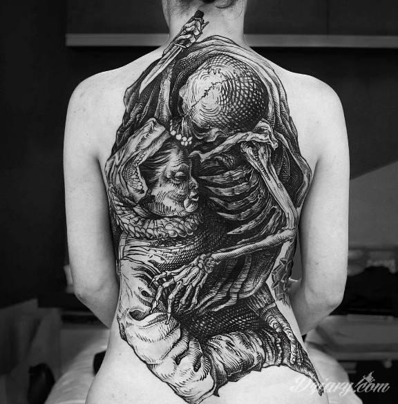 Tatuaż Ciekawy tatuaż na...