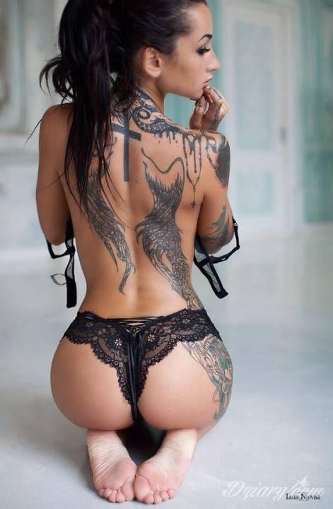 Tatuaż Cudowne kształty