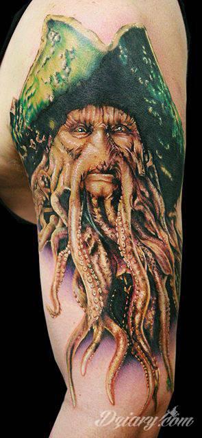 Tatuaż Davy Jones