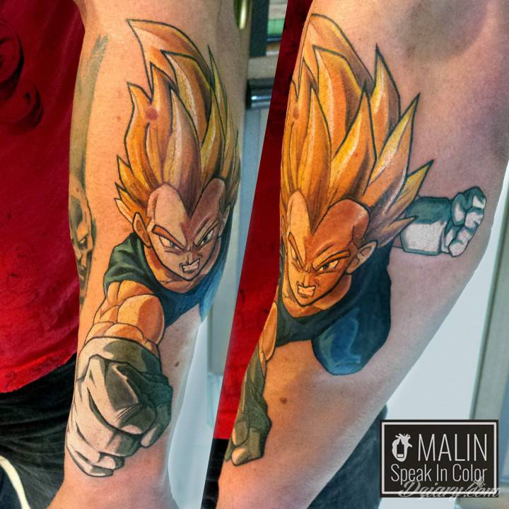 DRAGON BALL Vegeta by Malin - Speak In Color Wodzisław Śl!