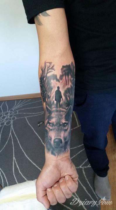 Tatuaż Druga dziarka ;)
