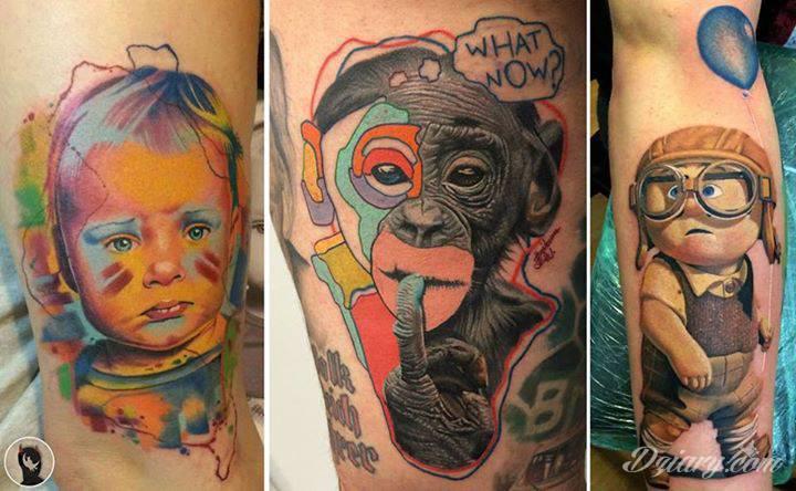 Dzikson Wildstyle Tattoo, Skingrafix Tattoo, Dania/DK