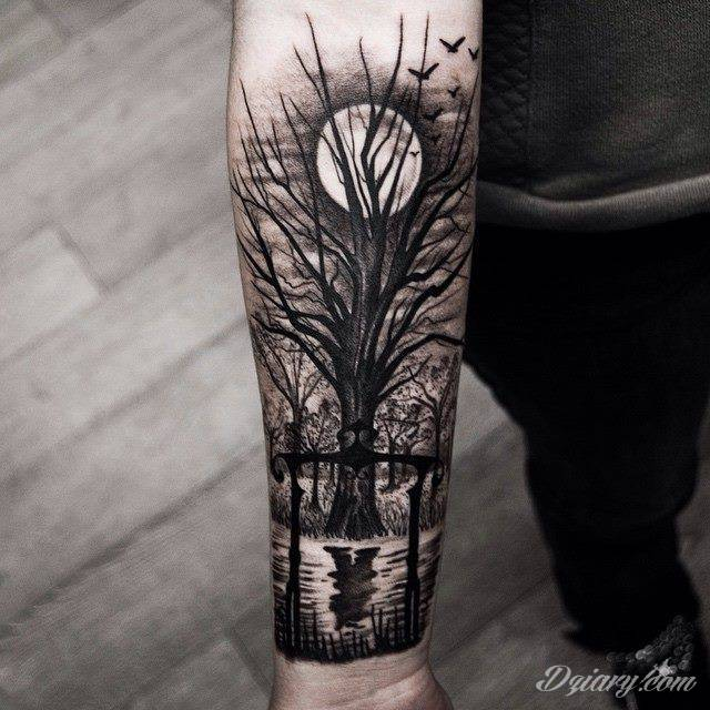 tatua e drzewo wzory i galeria tatua y. Black Bedroom Furniture Sets. Home Design Ideas