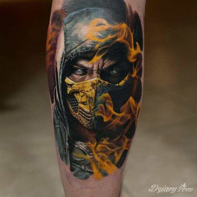 Tatuaż Fantastyczne dzieło Denisa...