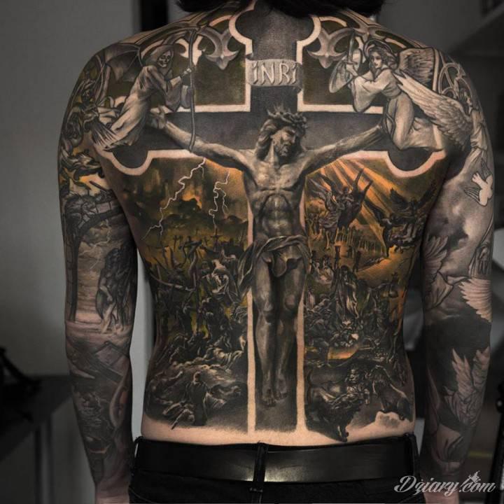 Tatuaż Fantastycznie odwzorowany moty