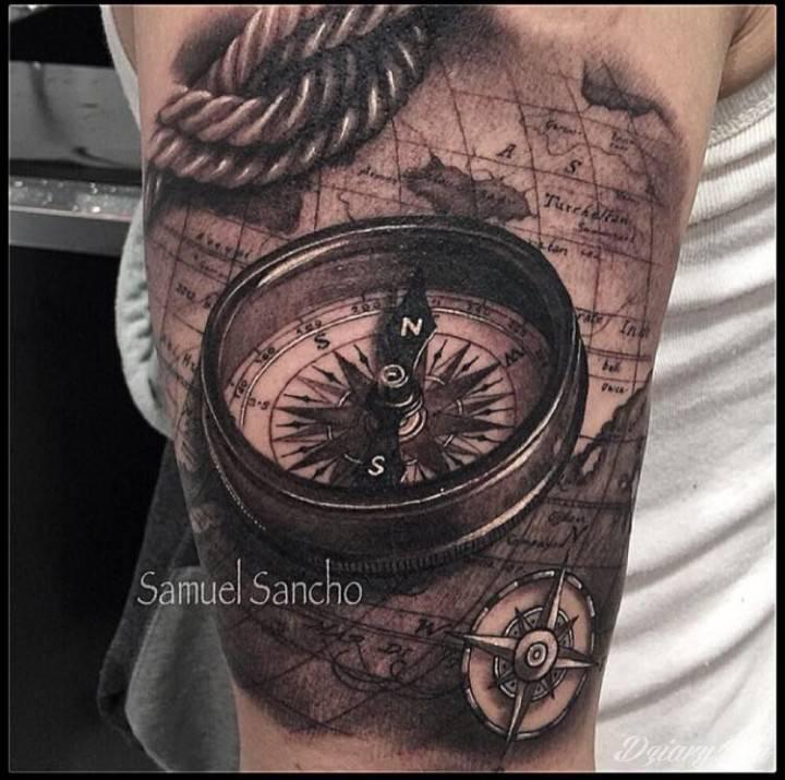 fantastyczny kompas 3d