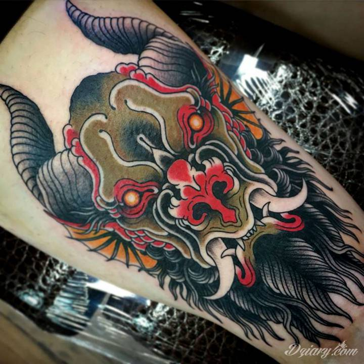 Tatuaż Find my demon...
