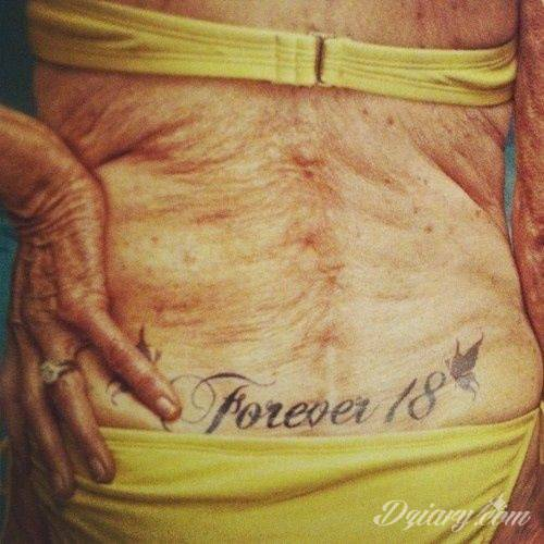Tatuaż Forever 18