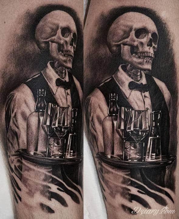Tatuaż Gdy wokół Ciebie...