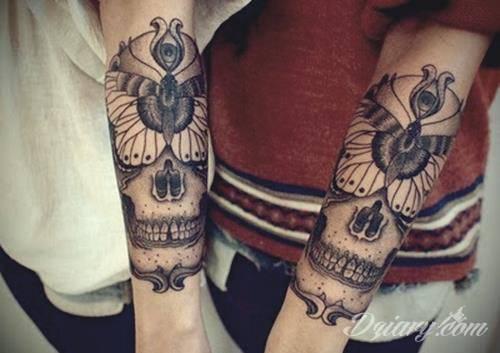 Tatuaż Great skull tattoos