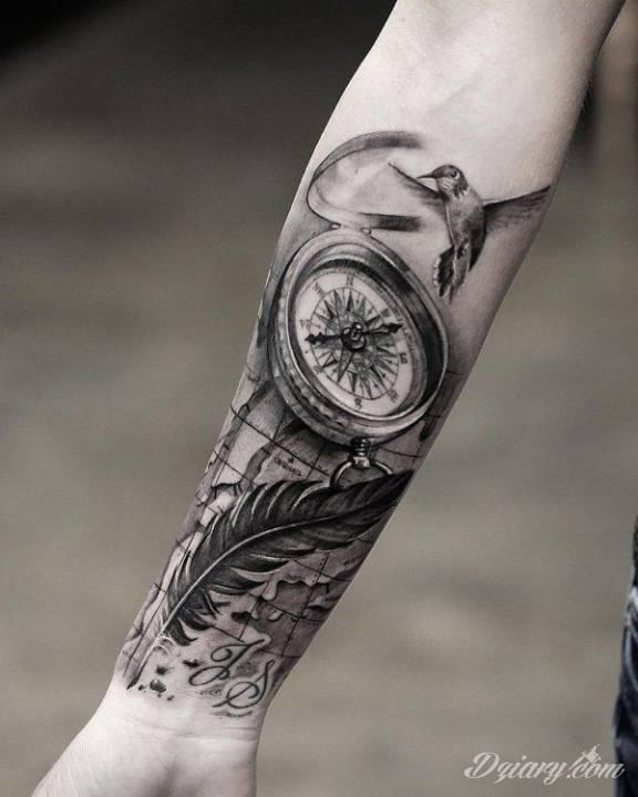 Tatuaż Hej :) Ile...