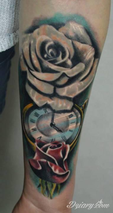 Tatuaż I kolejny :-)