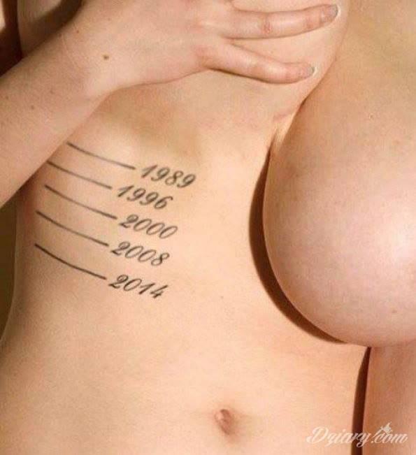 Im większe za młodu tym dłuższe na starość. Drogie panie dbajcie o biusty żeby te przysłowie się nie spełniło