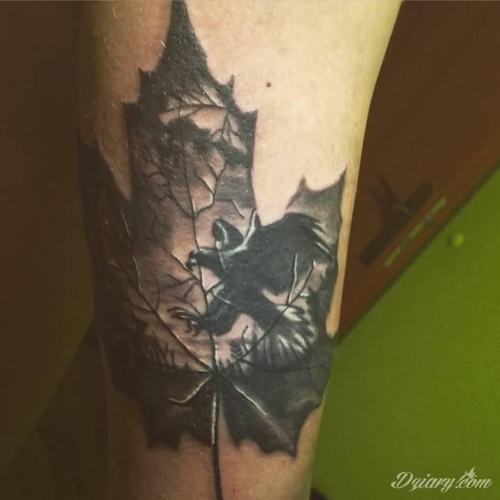 Jeden z moich tatuaży , przede mną jeszcze z kilkanaście. Pozdrawiam !