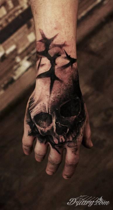 Tatuaż Jeden z trzech...