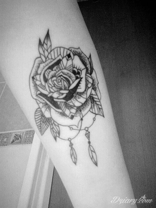 Tatuaż Kolejna do kolekcji...