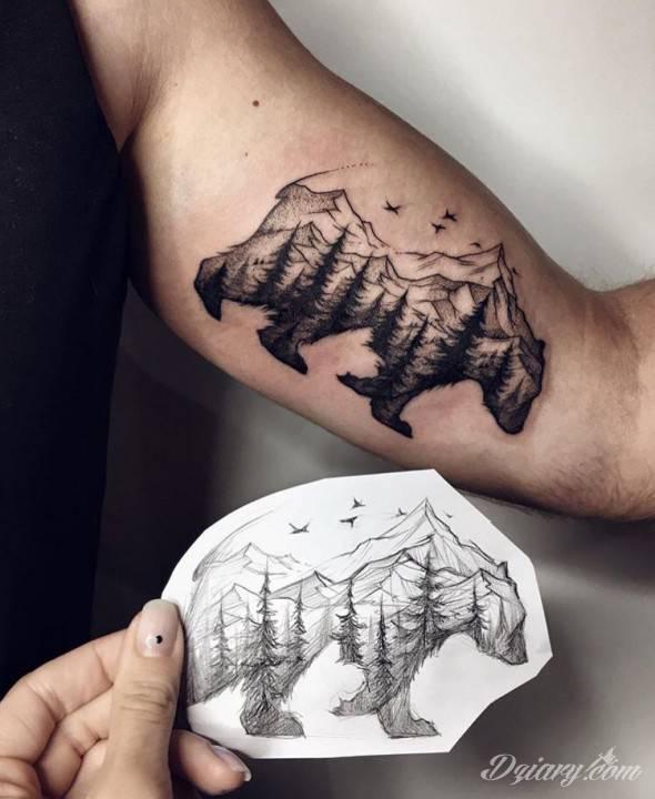 Tatuaż Krocz stanowczo, ale...