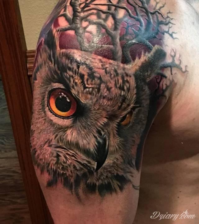 Tatuaż Mądrość jest cnotą,...